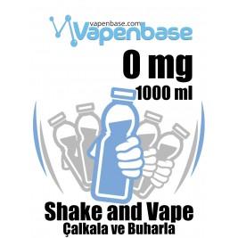 VapenBase 0 mg - 1000 ML