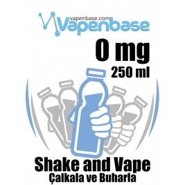 VapenBase 0 mg - 250 ML