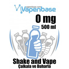 VapenBase 0 mg - 500 ML