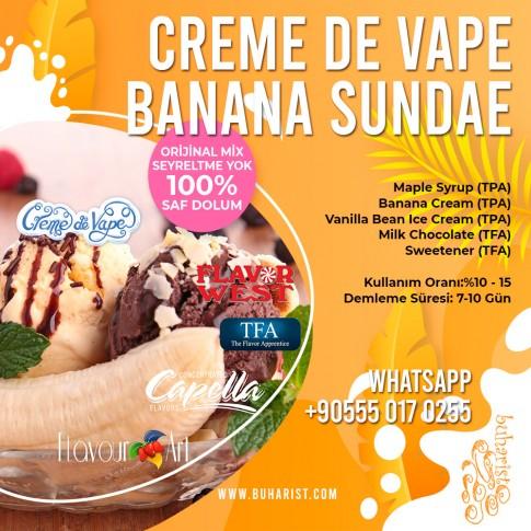 Creme de Vape - Banana Sundae Mix Aroma