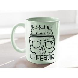 Vape or Die Baskılı Mug