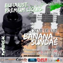 Buharist - Creme de Vape - Banana Sundae Premium Liquid