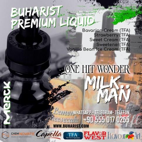 Buharist - One Hit Wonder - Milk Man Premium Liquid