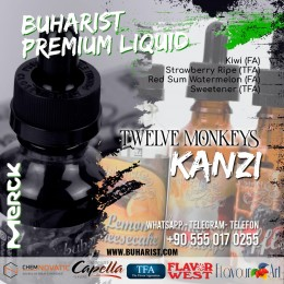 Buharist - Twelve Monkeys - Kanzi Premium Liquid