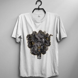 Kraken Design Oversize T-Shirt