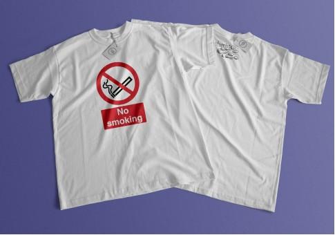T-Shirt No Smoking